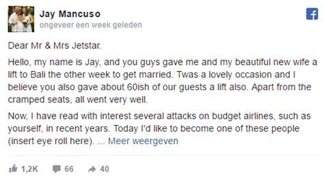 Jetstar Customer Letter passenger sends a complaint letter to budget airline jetstar australia aviation24 be