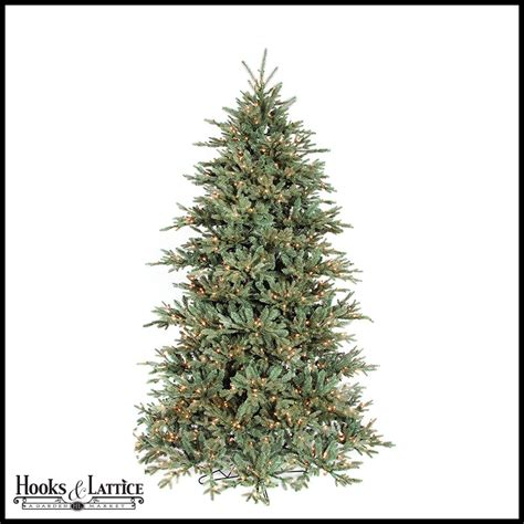 9 ft frost mini pre lit fir artificial christmas tree w