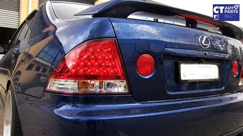 lexus is300 lights jdm clear led lights for 99 05 lexus is200 is300