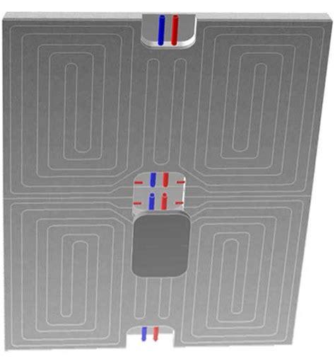 impianto radiante a soffitto riscaldamento e raffrescamento a parete