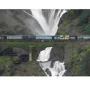 How To Reach Dudhsagar Waterfalls By Train