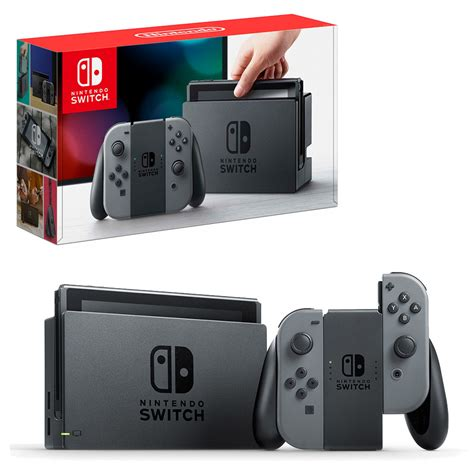 console switch nintendo switch grey con console the gamesmen