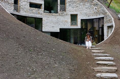 ultra modern house situated in geneva switzerland strange underground house in switzerland