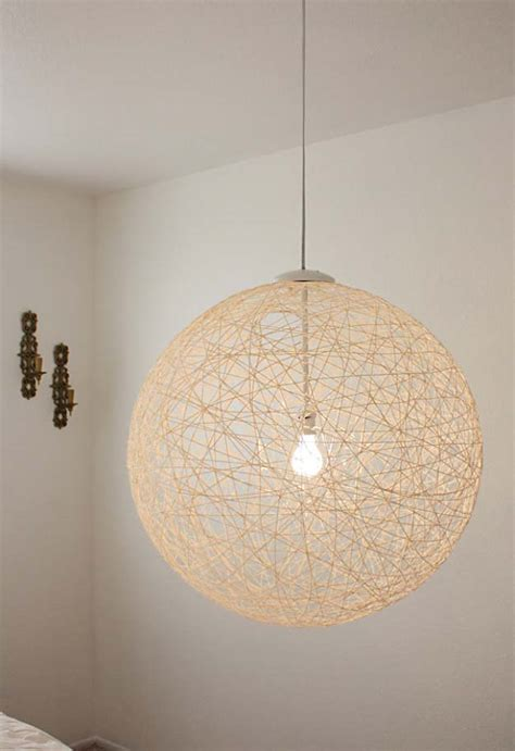diy globe pendant light 28 dreamy diy lighting projects you ll adore