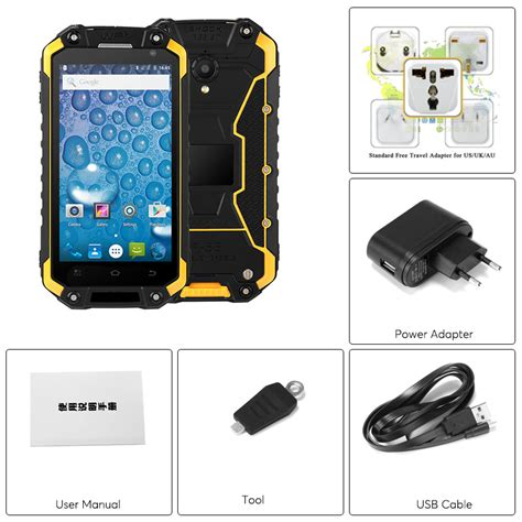 Rugged Android Phones by Rugged Android Phone Jeasung X8g Yellow Smart Talk Phones