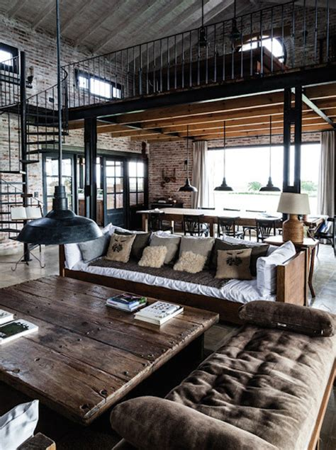 Industrial Stil by How To Industrial Style Your Home Style Etcetera