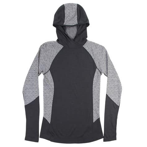 pattern hoodie smartwool nts 250 midweight pattern hoodie women s evo