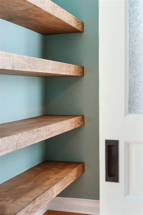 DIY Floating Wood Shelves!   Yellow Brick Home   Bloglovin?