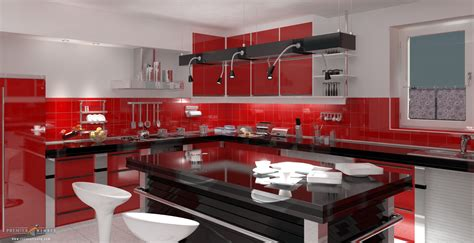 red kitchens architecture red kitchen foundation 3d forums