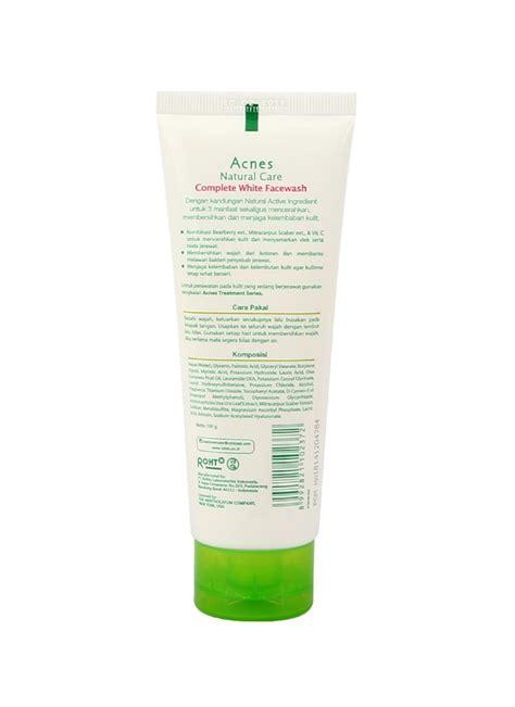 Acnes Pembersih Wajah acnes wash complete white tub 100g klikindomaret
