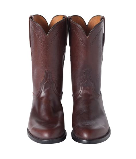 lucchese roper boots sid mashburn lucchese classic roper boot sidmashburn
