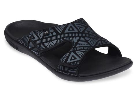 mens slide sandals spenco tribal s slide sandal ebay