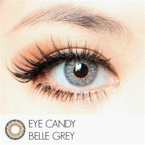 Eye Softlens Grey softlens eye gray 15mm softlens
