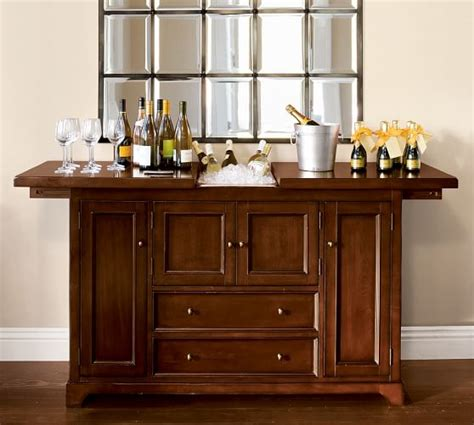 Cabinet Bars by Torrens Bar Cabinet Pottery Barn