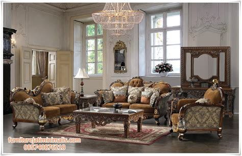 Kursi Ruang Tamu Ukiran model sofa ruang tamu jati ukiran jepara model sofa tamu