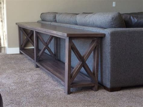 how long should a sofa table be best 25 long sofa table ideas on pinterest diy sofa