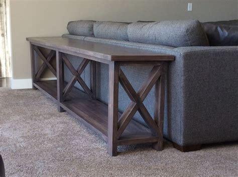 diy narrow sofa table best 25 long sofa table ideas on pinterest diy sofa