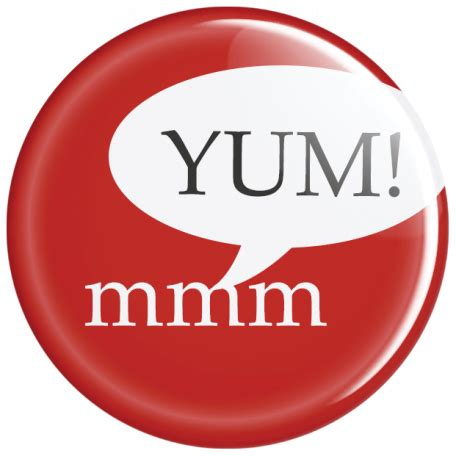 Graphic Yum by Food Day Yum Button Pin Graphic By Dunn Pixel
