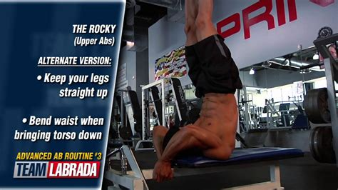 advanced abs workout routine from team labrada athlete david gonzalez