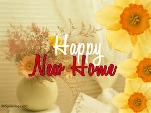 new home wishes for happy new home post card from