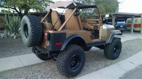 jeep eagle lifted 1979 jeep cj5 golden eagle v8 mechanical restoration 4