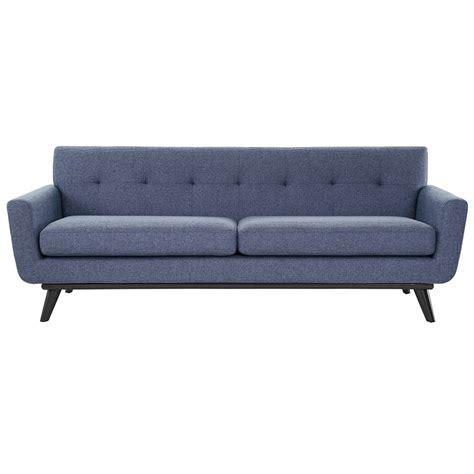 jeromes sectional sofas modern sofas jerome blue linen sofa eurway