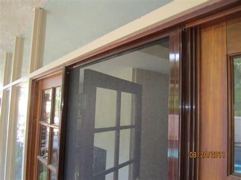 Hideaway Doors by Hideaway Door Screen How To Install A Retractable Screen