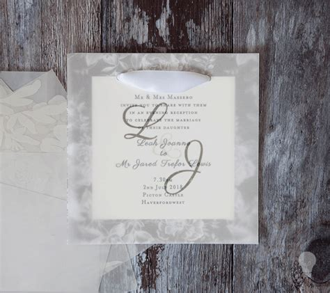 wedding invitation kits with vellum how to make gorgeous vellum wedding stationery imagine diy