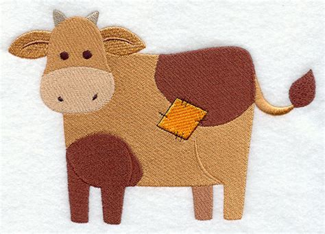 Patchwork Cow - primitive patchwork cow stitching animals