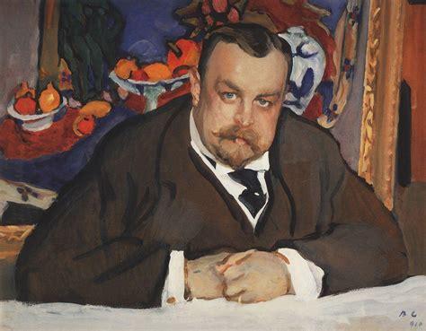 valentin serov portrait of ivan morozov 1910 valentin serov wikiart org