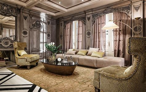 luxury homes pictures interior neoclassical and deco features in two luxurious interiors