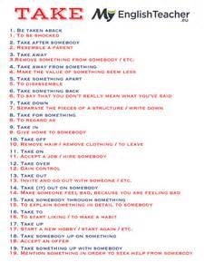 19 most common phrasal verbs with take myenglishteacher eu