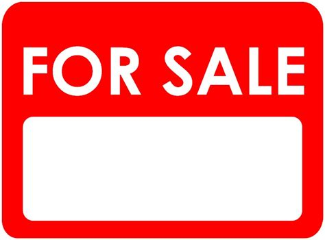 car for sale sign clipart best