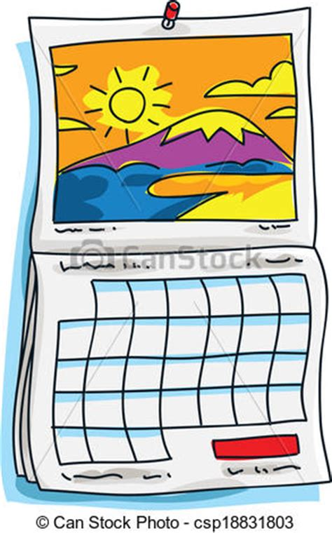 clipart calendario clip vectorial de calendario soleado it