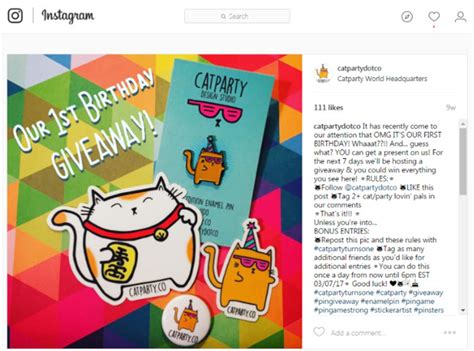 How To Set Up An Instagram Giveaway - the complete guide to advertising on instagram wordstream