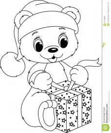 bear coloring stock vector image 41116638
