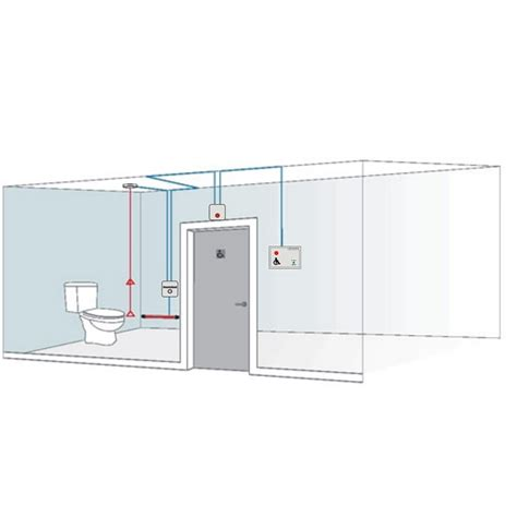aidalarm disabled toilet alarm stainless panic kit