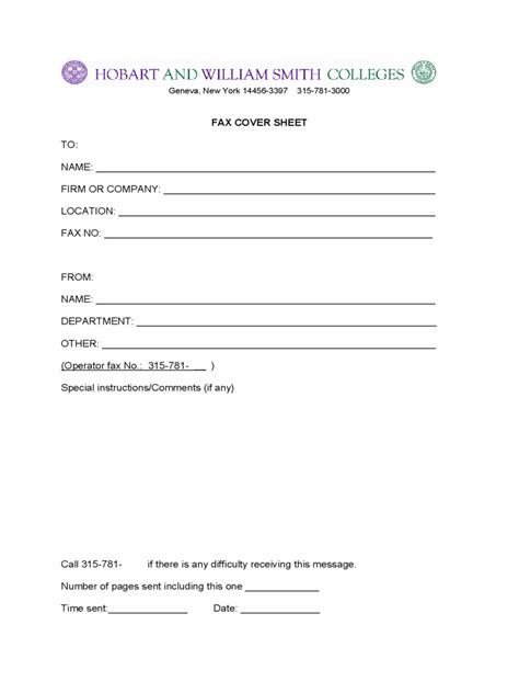 fax cover sheet 35 free templates in pdf word excel