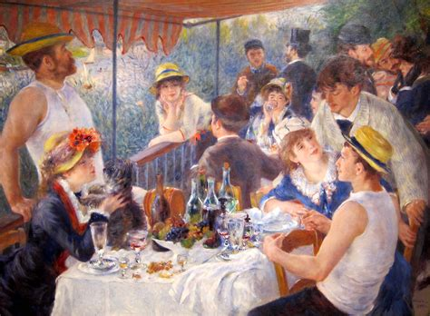 gambar luncheon of the boating party favorite painting of all time page 17 steve hoffman