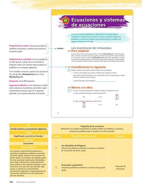 issuu coco libro de matematicas primer grado de secundaria maestro matem 225 ticas 3er grado volumen ii by rar 225 muri issuu
