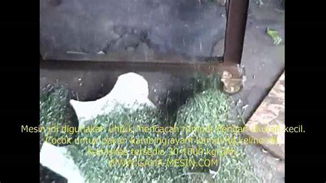 Mesin Pencacah Rumput Untuk Kambing mesin pencacah rumput kambing