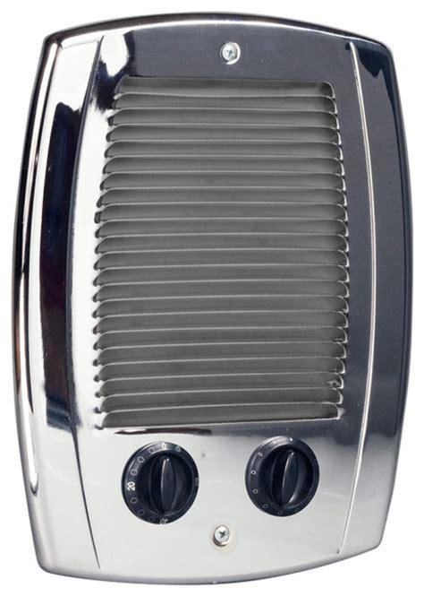 Modern Bathroom Electric Heater Pak Bath 1000 Watt Electric Wall Heater Chrome