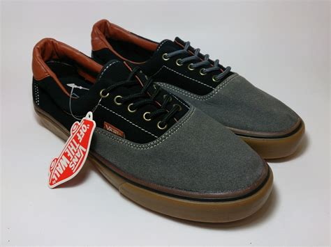 Sepatu Vans Era Black Gum vans era 59 suede black grey gum shoes shop id