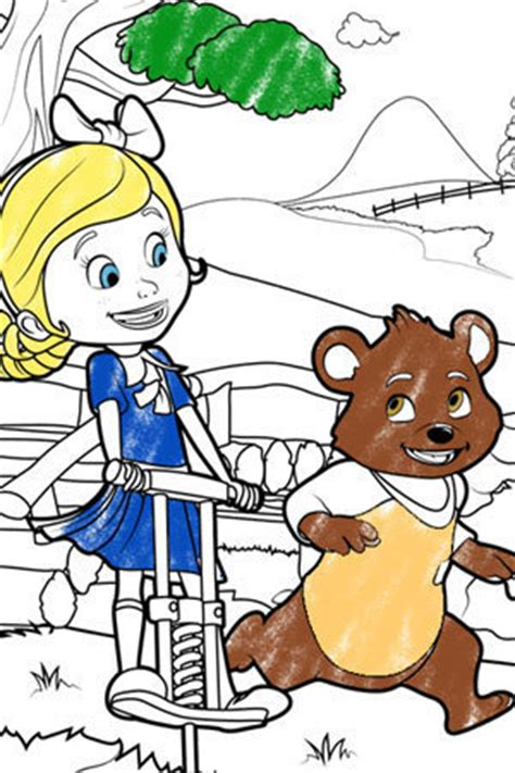 goldie bear coloring pages goldie and bear goldie and bear colouring page disney