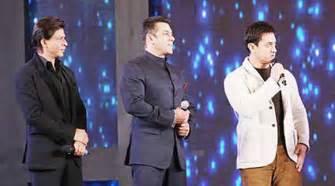 Salman Khan and Shah Rukh Khan are very big starsl: Aamir ...