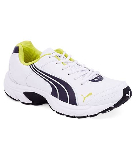 axis iv xt white sport shoes price in india buy