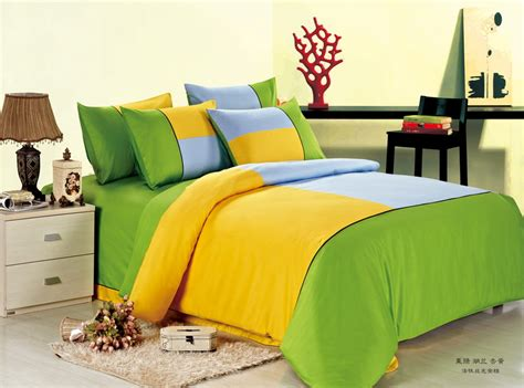 Green And Yellow Comforter by Yellow Bedding Nylons Pics