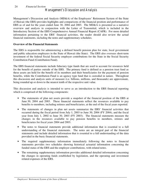 statistical section of cafr comprehensive annual financial report