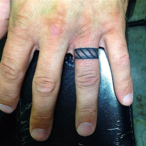 ring tattoos for men 55 wedding ring designs meanings true