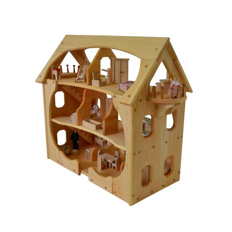 what is a doll house about wooden dollhouse something for everyone gift ideas